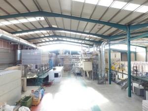 Fabrica de pellets en Leon